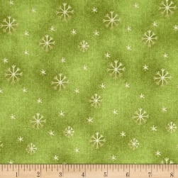 All Things Christmas Snowflake Green
