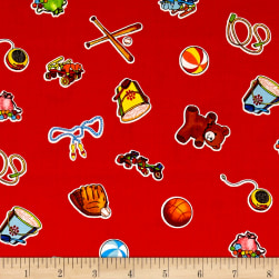 Wee Play Toys Red Fabric