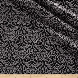 Telio Lannister Jacquard Black/Grey Fabric