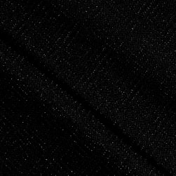 Telio Stretch Nylon Knit Metallic Diamond Black