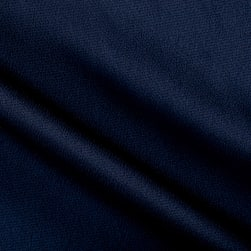 Telio Bubble Satin Crepe Navy Fabric