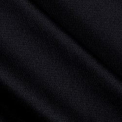 Telio Bubble Satin Crepe Black Fabric