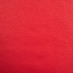 Rayon Sweatshirt Fleece Linen Red