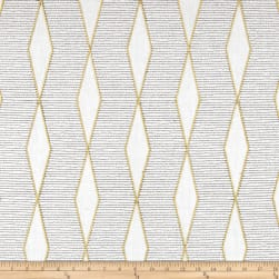 Richloom Hiker Basketweave Sisal Embroidered Fabric