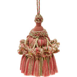 Collier Campbell Choreography Key Tassel Coral Garden