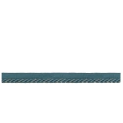 French General Colette Cord Trim Bleu