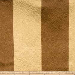 Fabricut Echo Stripe Faux Silk Golden Maple Fabric