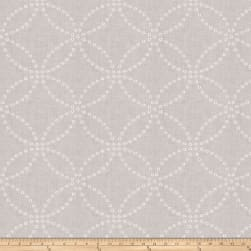 Fabricut Full Circle Linen Blend White
