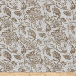Fabricut Galvin Floral Putty Fabric