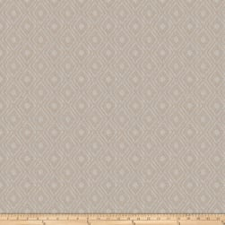Fabricut Gilcrease Diamond Linen Blend Pewter Sheen Fabric