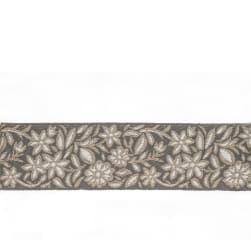 "Mount Vernon 2"" Gillyflower Trim Pewter"