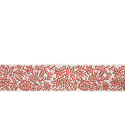 "Mount Vernon 2"" Gillyflower Trim Coral"
