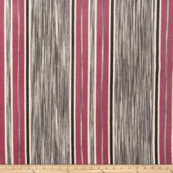 Fabricut Gypsy Stripe Pinkberry Fabric
