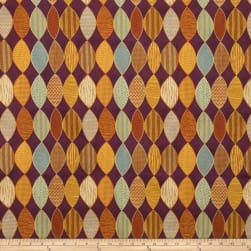 Fabricut Isis Jacquard Mulberry