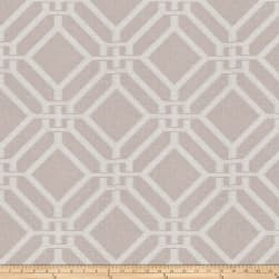 Fabricut Kama Lattice Stone Sheen Fabric