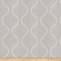 Fabricut Louvre Ogee Winter White Fabric
