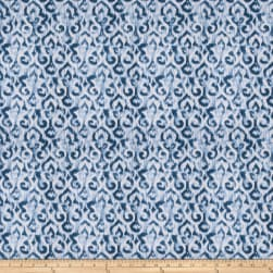 Fabricut Maister Damask Denim Fabric