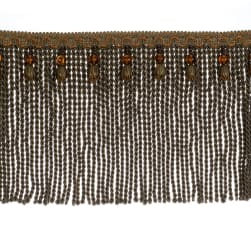 "Fabricut 9"" Mountain Resort Bullion Fringe Cantaloupe"
