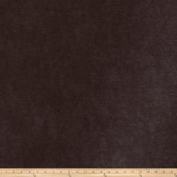 Fabricut Platinum Faux Leather Mahogany Fabric