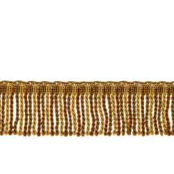 "Fabricut 2.5"" Porch Swing Bullion Fringe Copper"