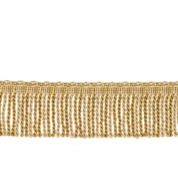 "Fabricut 2.5"" Porch Swing Bullion Fringe Amber"