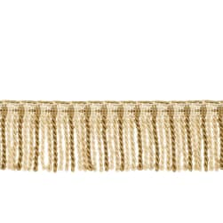 "Fabricut 2.5"" Porch Swing Bullion Fringe Conch"