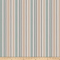 Fabricut Rima Stripe Sea Smoke Fabric