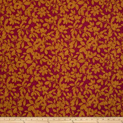 Fabricut Royal Palm Jacquard Fuchsia Fabric
