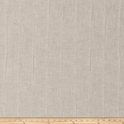 Fabricut Smithsonian Linen Blend White Sparkle Fabric