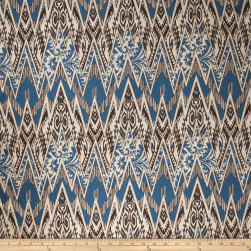 Fabricut Sumatra Blue Java Fabric