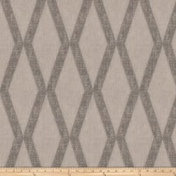Fabricut Teeter Linen Blend Charcoal Fabric