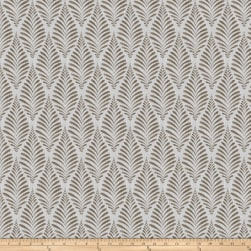 Fabricut Thesis Leaf Stone Fabric