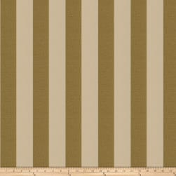 Fabricut Tux Stripe Harvest Gold Fabric