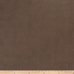 Fabricut Westbury Faux Leather Mahogany Fabric