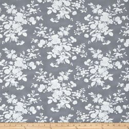 Tanya Whelan Shades of Rose Toile Gray Fabric