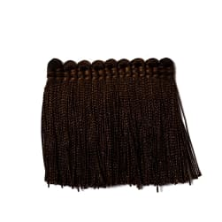 "Trend 2.25"" 01743 Brush Fringe Chocolate"
