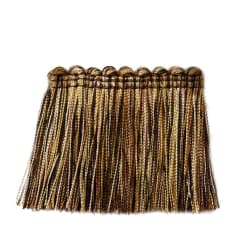 "Trend 2.25"" 01743 Brush Fringe Tiger's Eye"