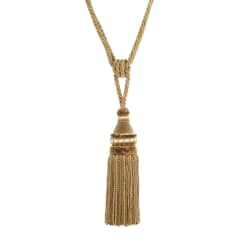 "Trend 32"" 02500 Single Tassel Tieback Gold"