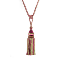 "Trend 32"" 02500 Single Tassel Tieback Passion"