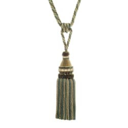 "Trend 32"" 02500 Single Tassel Tieback Seaglass"