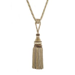 "Trend 32"" 02500 Single Tassel Tieback Porcini"