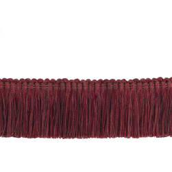 "Trend 2"" 02868 Brush Fringe Wine"