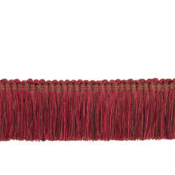 "Trend 2"" 02868 Brush Fringe Cherry"