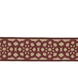 "Jaclyn Smith 2"" 02922 Trim Scarlet"