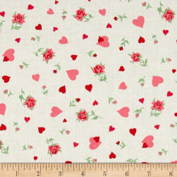 Verna Mosquera Love & Friendship Heartfelt Cloud Fabric
