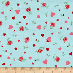 Verna Mosquera Love & Friendship Heartfelt Sky Fabric