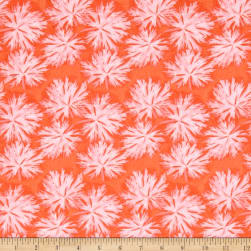 Nel Whatmore Ghost Geranium Orange Fabric