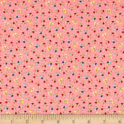 Riley Blake Arbor Blossom Flowers Pink Fabric