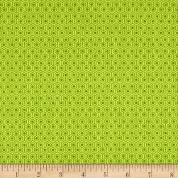 Riley Blake Glamper-licious Geometric Green Fabric