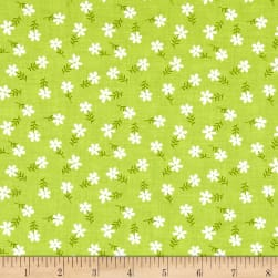 Riley Blake Glamper-licous Daisy Green